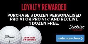 Titleist Loyalty Rewarded - Save £41.99