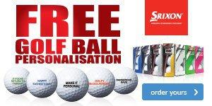 Srixon Free Ball Personalisation - from £17.99