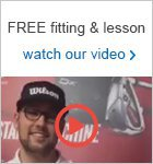 Get a free fitting & lesson with Wilson equipment